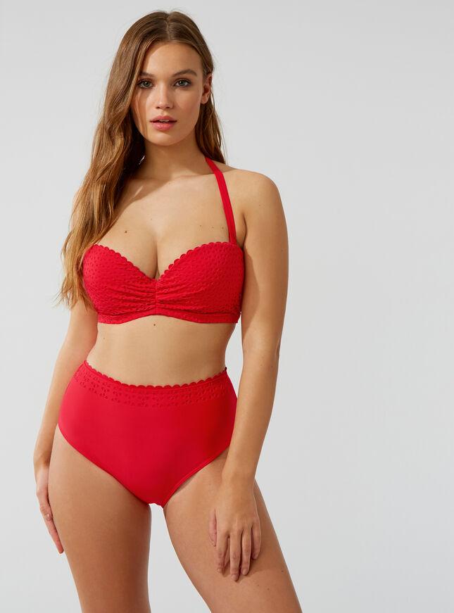Frejus high-waisted bikini briefs