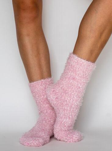 Fluffy popcorn socks