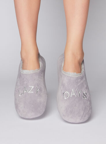 Lazy days slippers