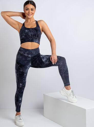 Boux Sport tie dye leggings