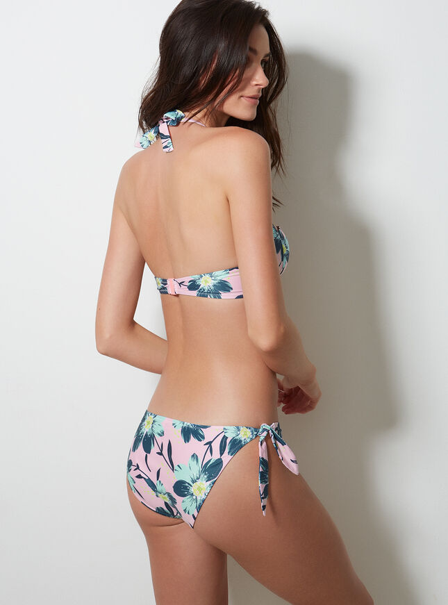 Flores bikini briefs