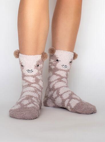 Giraffe cosy socks