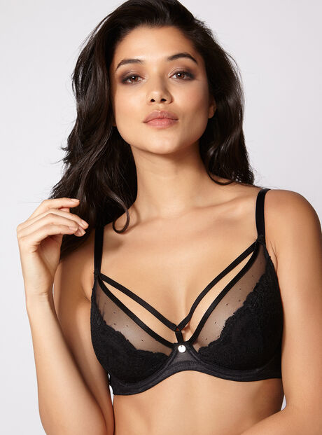 Harper non-padded full support bra