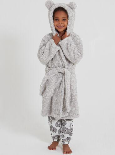 Girls teddy robe