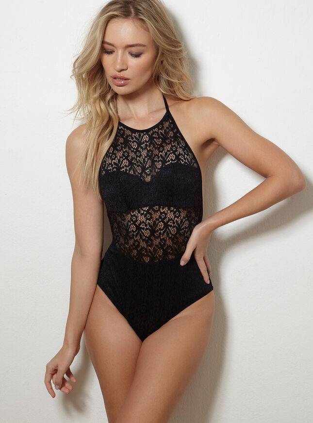Lace swimsuit