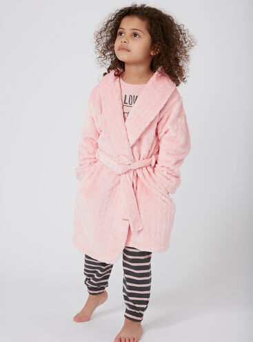 Girls clara dressing gown