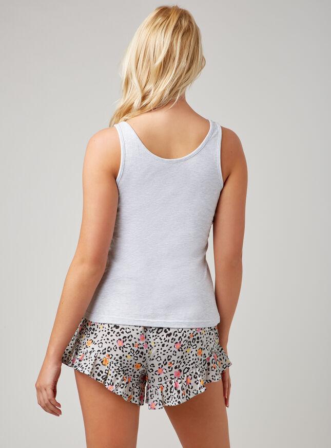 """""""Wild"""" leopard pyjama set"""