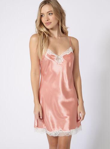 Daphne strappy chemise