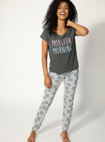 Monster morning pyjama set