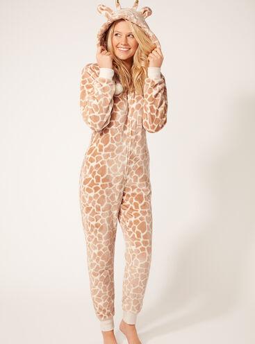 Pretty giraffe onesie