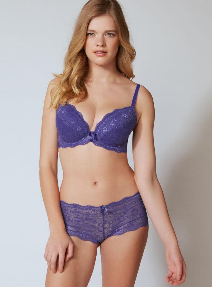 9b3e7cd5e4 Chloe lace plunge bra. Model wears size 32E