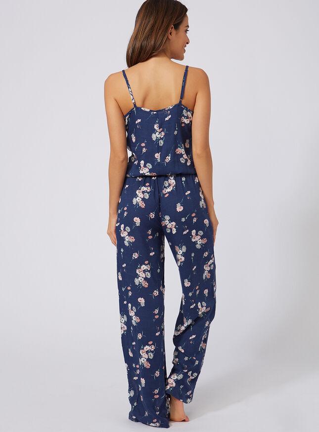 Wildflower printed jumpsuit
