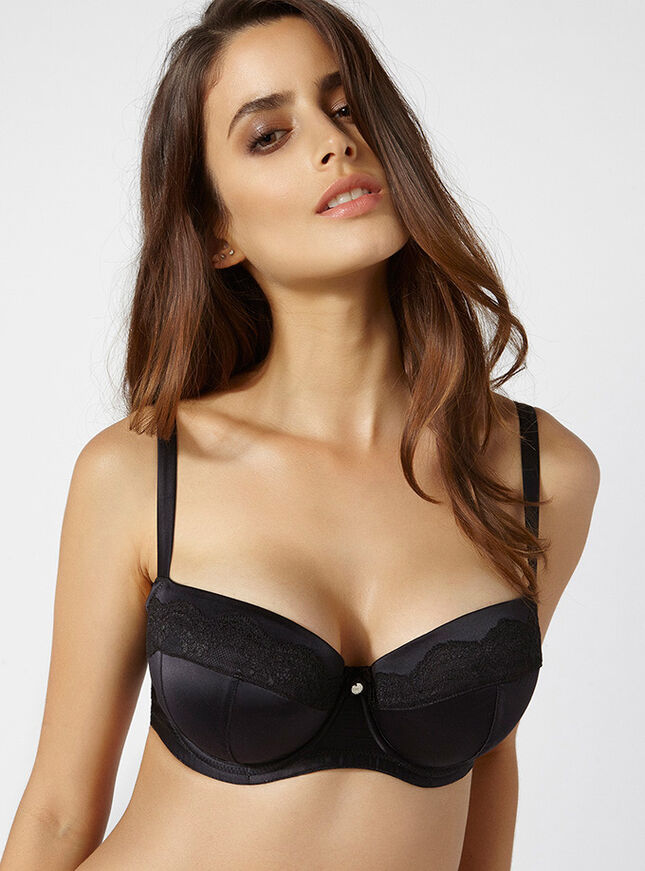 Samantha full support balconette bra