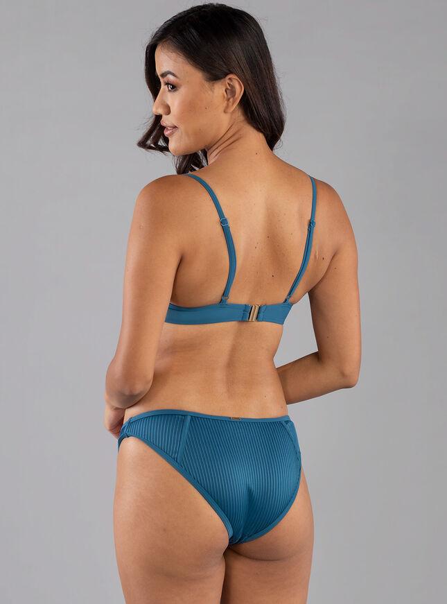 Martinique pleat bikini top
