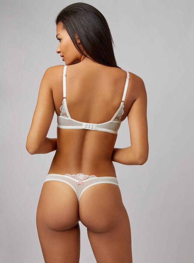 Tessie padded plunge bra