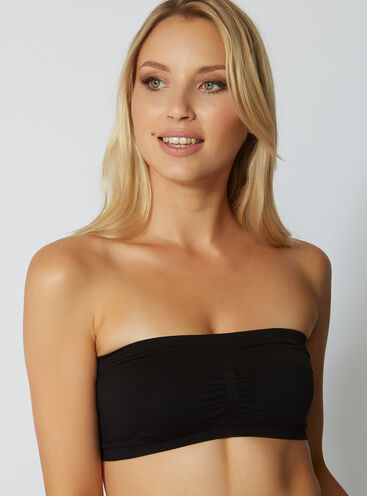 Sculpting bandeau top
