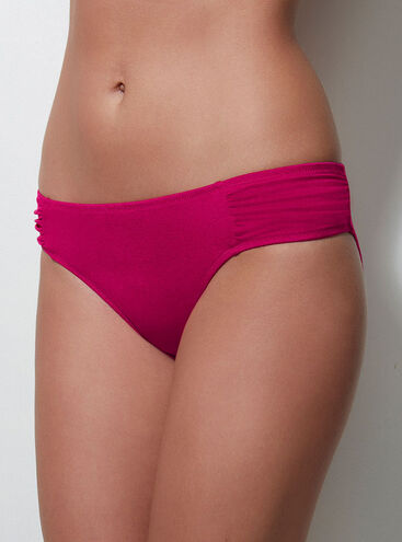 Cyprus ruched bikini briefs