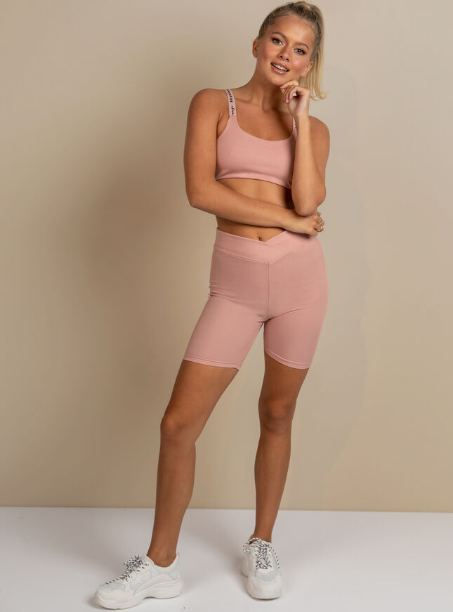 Tilly ribbed cycling short