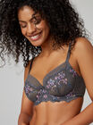 Lizzie embroidered balconette bra
