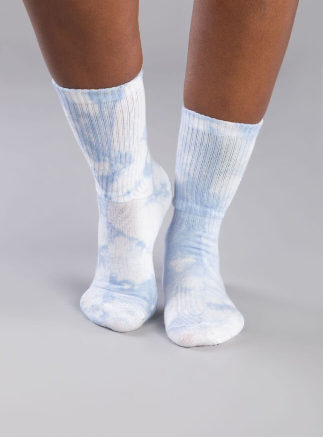 2 Pack Be kind tie dye ankle sock