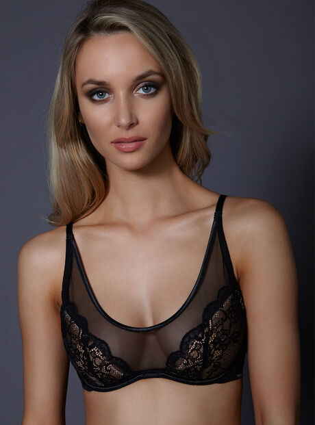 Aisha  high front bra