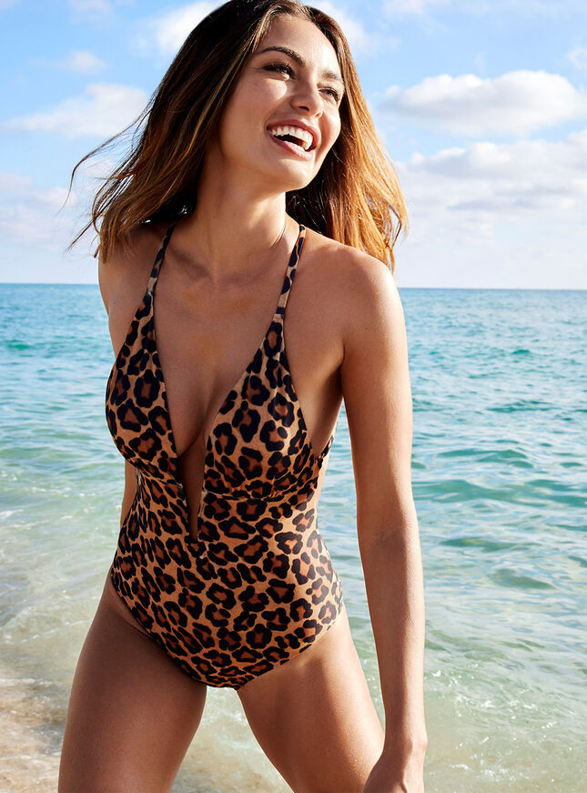 Mozambique leopard swimsuit