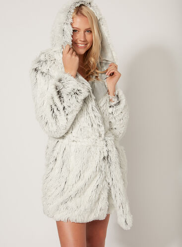 Luxe yeti dressing gown