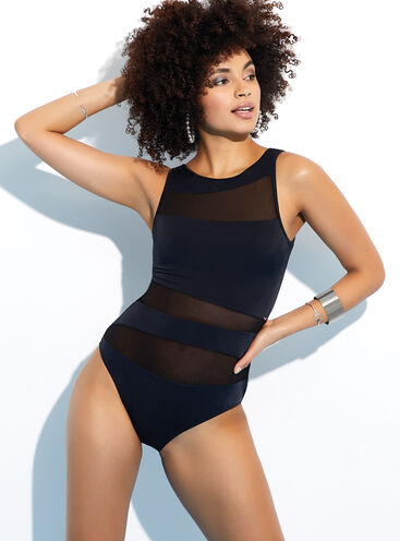 Latina mesh swimsuit
