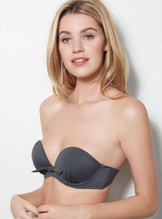 Malia strapless bikini top