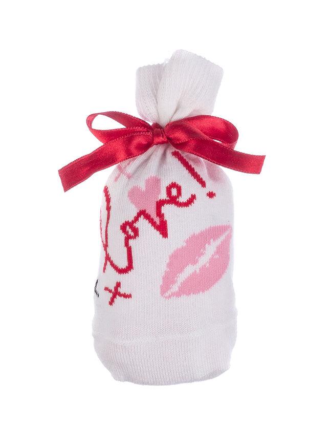Kiss socks in a bag
