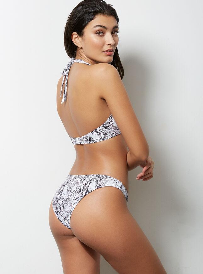 Ibiza snake bikini top