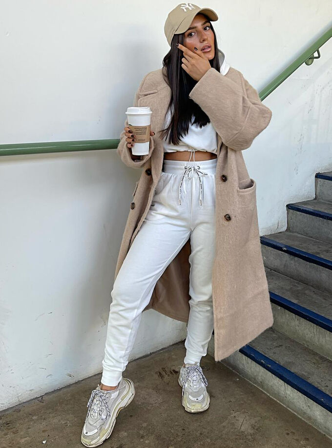Panelled lounge jogger