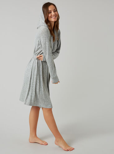 Nia jersey robe