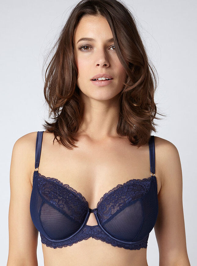 Daniella non-padded full support bra