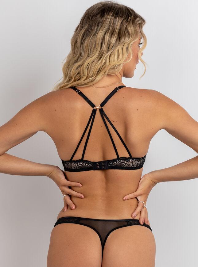 Nellie plunge lingerie set