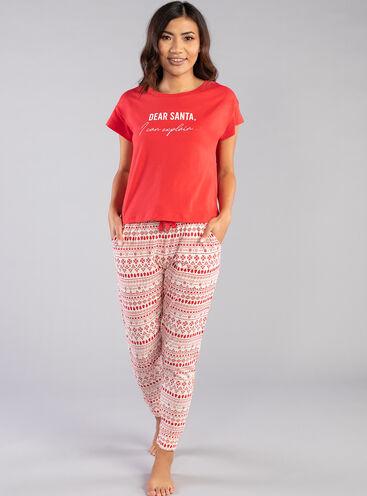 Dear Santa pyjama set