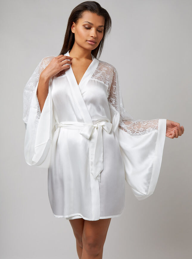 Bouxtique by Boux Avenue Elodie silk robe