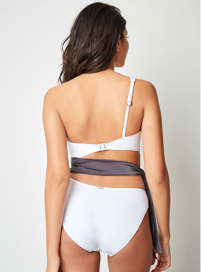Mono tie side swimsuit