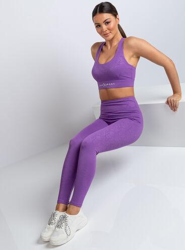 Boux Sport aztec jacquard leggings