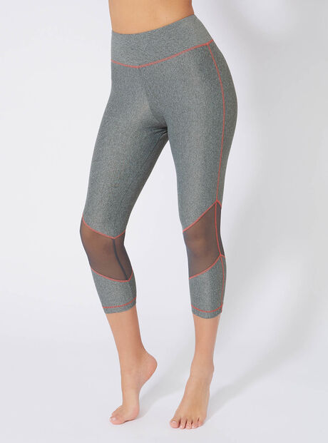 Activewear cropped leggings