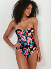 Floral multiway DD+ underwired swimsuit