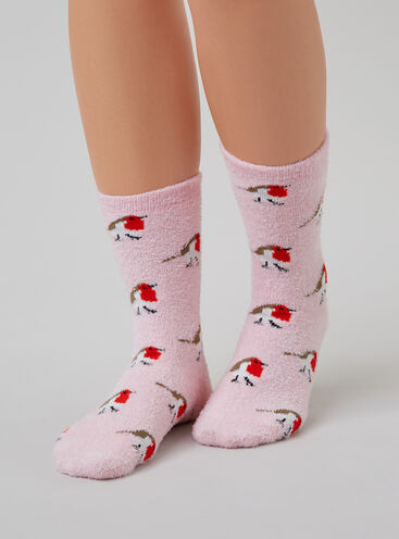 Robin cosy socks