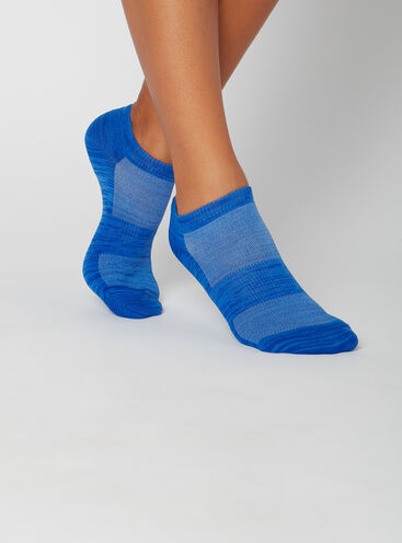 3 pack marl trainer socks