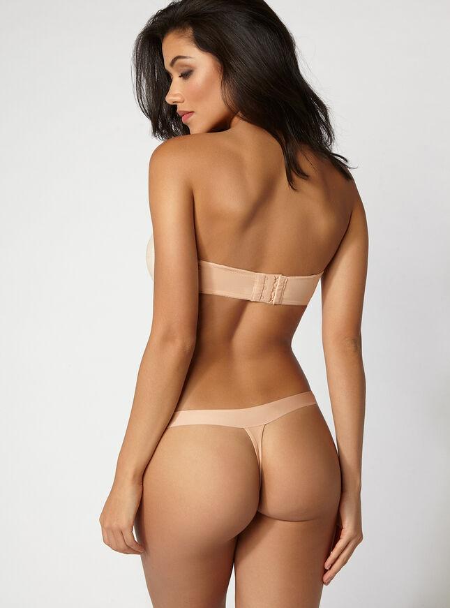 Boux lace seam-free thong