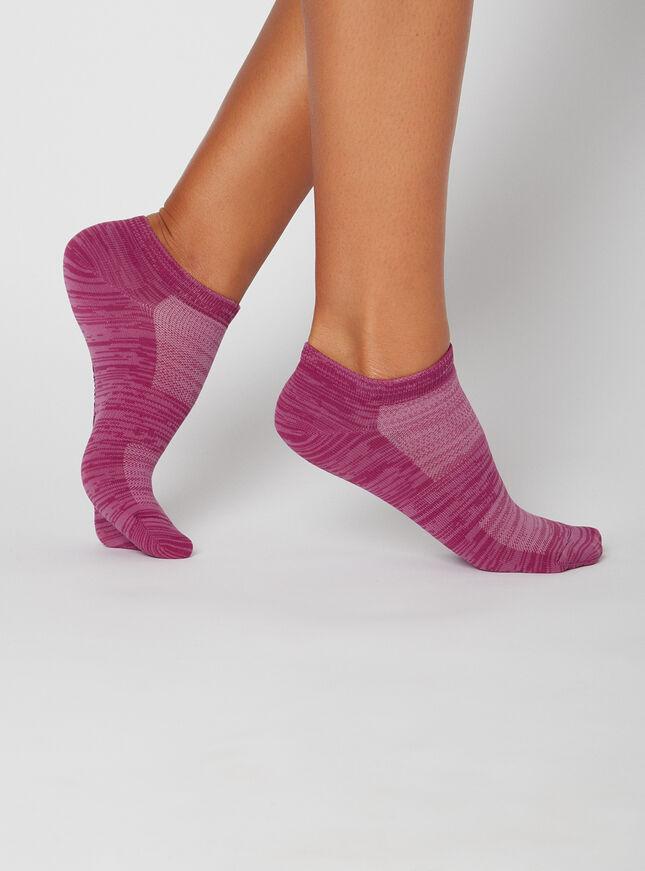 3 pack marl trainer socks