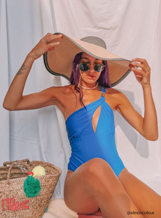 Panama buckle swimsuit