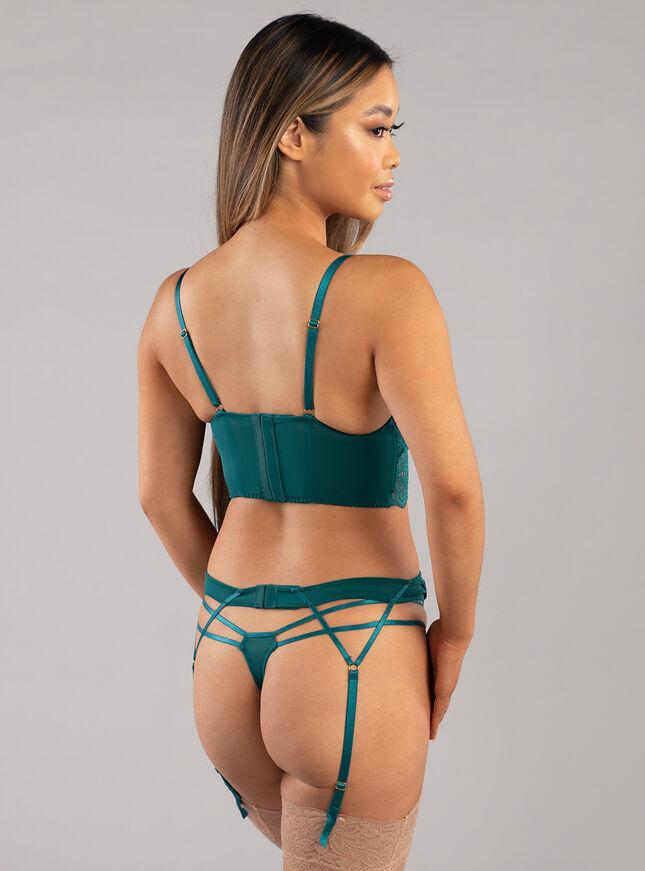 Darcie longline lingerie set