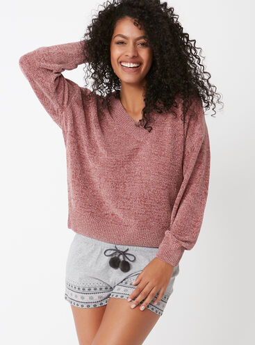 Chenille jumper