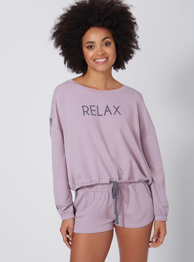 Relax blouson pyjama set