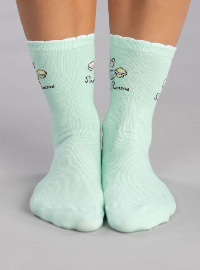 2 Pack macaron ankle socks